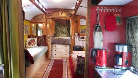 Originele en authentieke woonwagen