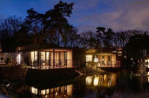 Duurzame Eco-Lodge met hottub