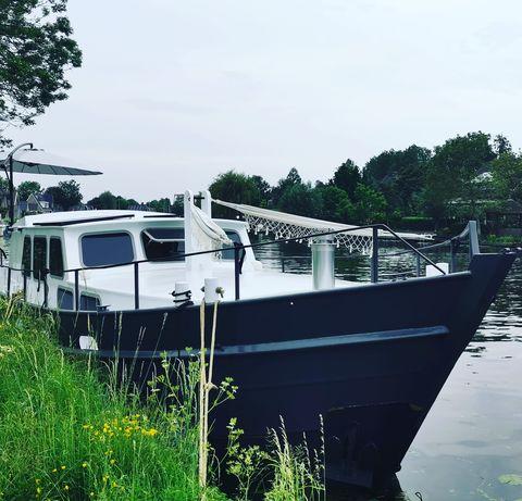 Privé Saunaboot met prachtig design